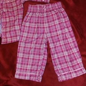 Wonderkids Pajamas - toddler flannel pajama set size 12m